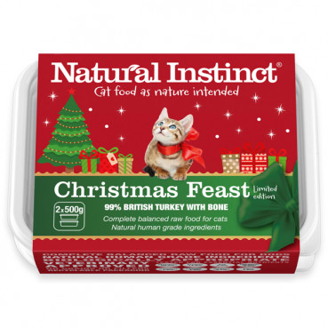 Christmas Feast Cat 1